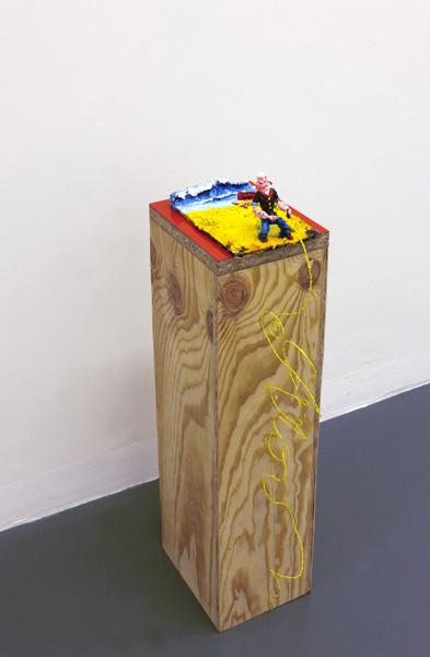 Steffen Lenk | installation shot | Museum für gegenstandsfreie Kunst Otterndorf