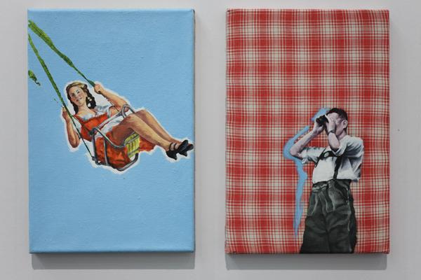Steffen Lenk | installation shot | Galerie Anke Schmidt