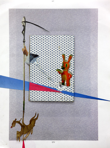 Steffen Lenk   O.T.   collage on paper   Paperworks