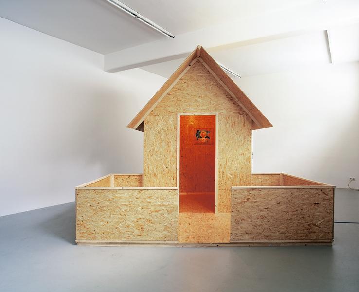 Steffen Lenk | installation shot | Kunstraum L6