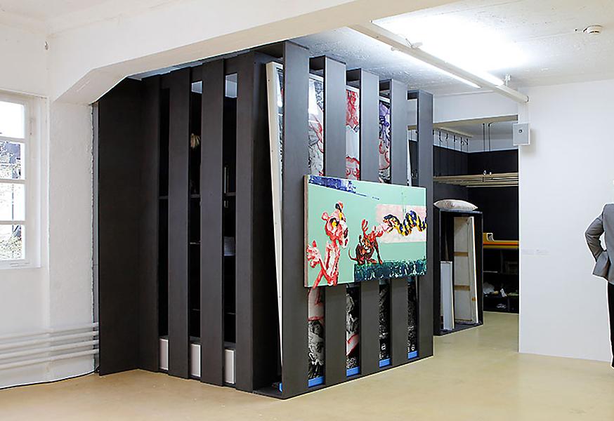 Steffen Lenk | installation shot | Kunstverein Bregenz