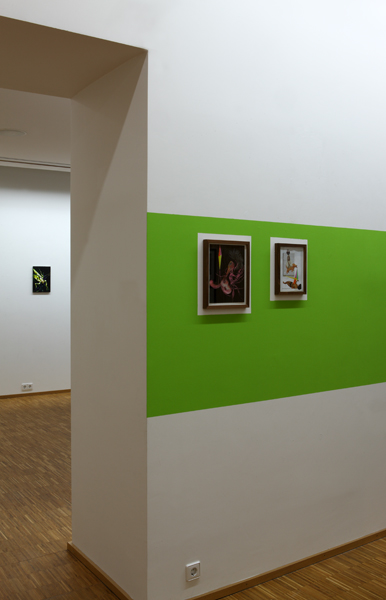 Steffen Lenk | installation shot | Kunstverein Mittelbaden
