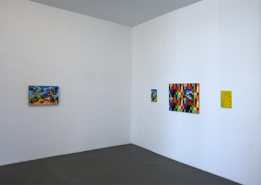Steffen Lenk | installation shot | Galerie Schmidt Maczollek