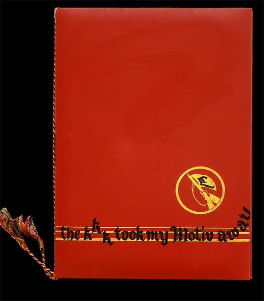 Steffen Lenk  | The KKK took my Motiv away | Limited Editions